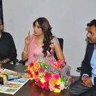 Aatma Team Promote Upcoming Movie At Rajasthan Patrika Office