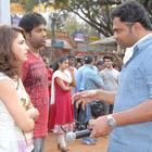 Yevadu Telugu Movie Working Stills