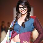 Prachi Desai Walks For Shruti Sancheti At Lakme Fashion Week