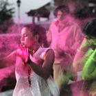 Celebs At Rang De Colors Holi Party 2013