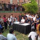 Ranbir Kapoor At Charity Football Match Promotion Event 2013