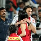 Ness Wadia Hugs Preity Zinta At PWI Vs KXIP Match In Pune