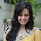 Sana Khan Saree Photos At Nadigayin Diary Movie Audio Launch