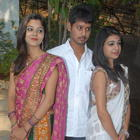 Sreenath,Aishwarya And Divya At U Movie Opening