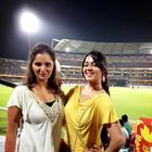 Charmy Kaur At IPL RCB Vs SRH Match