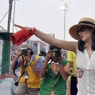 Preity Zinta At KXIP Vs KKR Match IPL 16th April 2013