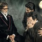Dilip,Amitabh And Shahrukh Photo ShootS For FIlmfare Cover
