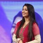Charmy Kaur Nice Photos At TSR TV9 Film Awards Function