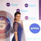 Parineeti Chopra Launches Nivea Total Face Clean Up Cream