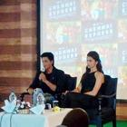 SRK And Deepika In Munnar At Chennai Express Press Meet