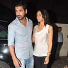John Abraham Watches Shootout At Wadala With Girlfriend Priya Runchal