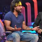 Saif Ali Khan On The Sets Of Extra Innings T20 IPL 2013 Stills