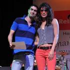 Priyanka Chopra Graces Musical Event At St Andrews College