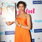 Deepika Padukone Unveiled Special Issue of People Magazine