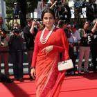 Vidya At The Un Chateau En Italie Premiere In Cannes Festival 2013