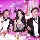 Mallika With Michael Cohen,Prince Albert  And Others At Cannes