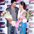 Ranbir And Deepika Promote YJHD At A Parachute Press Conference