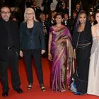 Ameesha And Nandita Latest Stills At Cannes