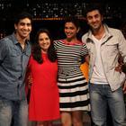 Yeh Jawani Hai Deewani Team At The Front Row Show
