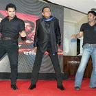 Akshay,Sunil,Mithun And Mahaakshay At Music Launch Of Enemmy