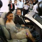 Lara Dutta Launches The New Audi Showroom In Bhubaneshwar