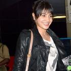 Anushka Sharma Spotted In Mumbai International Airport