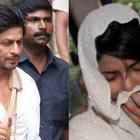 King Khan At The Funeral Of Priyanka Chopra's Father
