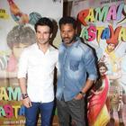 Prabhu Deva And Girish Kumar Promote Ramaiya Vastavaiya