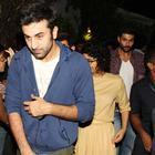 Amir Khan Ranbir And Kiran Snapped At Ship Of Theseus Screening