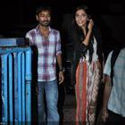 Sonam Kapoor And Dhanush Meet Raanjhanaa Fans At Chandan Cinema In Mumbai