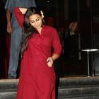 Vidya Balan With Hubby Snapped At Special Screening Of Ghanchakkar