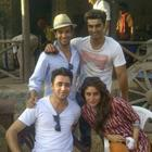 Kareena And Imran On The Set's Of Gori Tere Pyar Mein