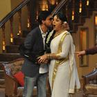 Shahrukh,Deepika And Rohit Promote Chennai Express On The Sets Of Comedy Nights With Kapil