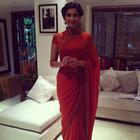 Fashionista Sonam Kapoor At Bhaag Milkha Bhaag Movie Promotion Photos