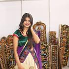 Actress Isha Agarwal At Silk Of India Exhibition