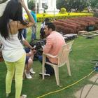 Varun And Ileana On The Sets Of Main Tera Hero