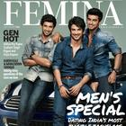 Aditya,Sushant And Arjun Photo Shoot For Femina Magazine July 2013
