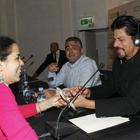Shahrukh Khan At Espaces Saada Press Conference In Casablanca