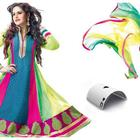 Zarine Khan In Anarkali  New Photo Shoot For A New Collection Of 2013