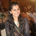 Taapsee Pannu At Sahasam Movie Success Meet Function