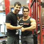 John Abraham Latest Pics At Gym