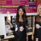 Priyanka Promote Her Album Exotic At Millions Of Milkshakes