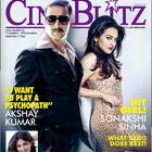 Akshay Kumar And Sonakshi For Cineblitz August 2013 Issue