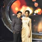 Shahrukh And Deepika Promote Chennai Express On The Sets Of Indian Idol Junior