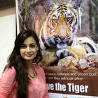 Dia Mirza At Save The Tiger Campaign