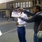 On The Sets Of Kick Movie At Glasgow, Scotland