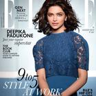 Deepika Padukone On The Cover Of Elle India August 2013 Issue