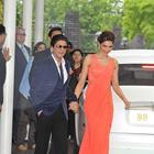 Shahrukh And Deepika At Chennai Express Premiere In London