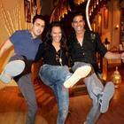 Akshay,Sonakshi,Imran At Comedy Nights With Kapil At Colors