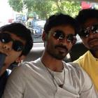 Dhanush Celebrates His 30th Birthday In London With His Buddies